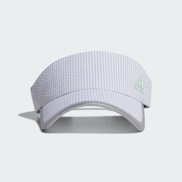 【返品可】【公式】アディダス adidas ウィメンズ ストライプバイザー 【ゴルフ】/ Visor レディース ゴルフ アクセサリー 帽子 サンバイ