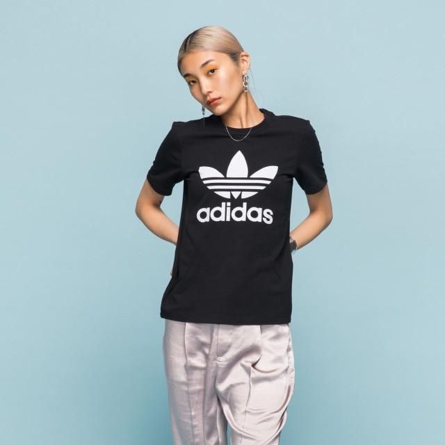【返品可】【公式】アディダス adidas トレフォイル 半袖Tシャツ レディース オリジナルス ウェア トップス Tシャツ