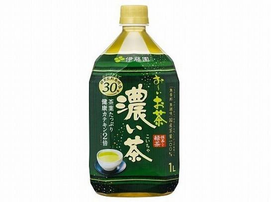 伊藤園  おーいお茶 濃い茶 ペット 1L x12 4901085002544