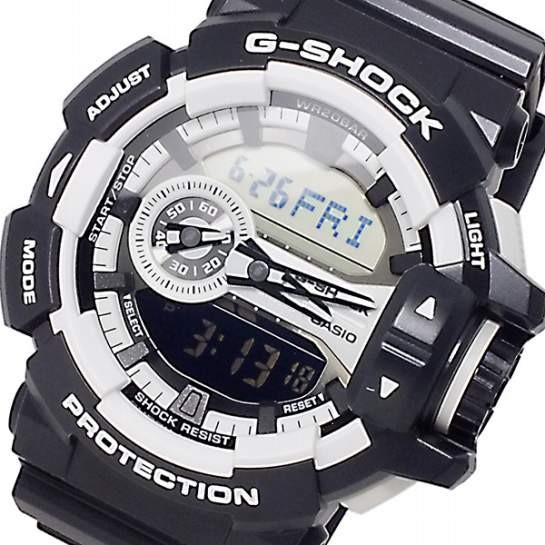 release date: f2f6e 5bea2 カシオ CASIO Gショック ロータリースイッチ メンズ 腕時計 GA-400-1A ga-400-1a|au Wowma!(ワウマ)