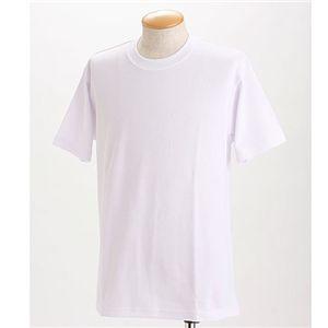 ドライメッシュTシャツ 2枚セット 白+レッド LLサイズ