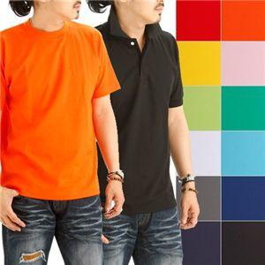 ドライメッシュポロ&Tシャツセット イエロー SSサイズ