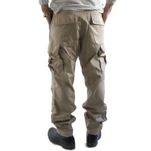 アメリカ軍 BDU カーゴパンツ /迷彩服パンツ 〔 Sサイズ 〕 リップストップ YN521007 デザート タイガー 〔
