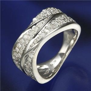 【25%OFF】 0.6ctダイヤリング 指輪 ワイドパヴェリング 15号, 両神村:ba5ef067 --- chevron9.de