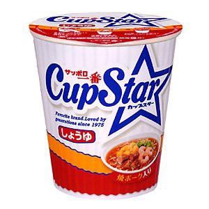 〔ケース販売〕 サンヨー食品 サッポロ一番 カップスター しょうゆ 71g 36個セット まとめ買い