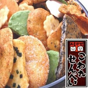 〔訳あり〕草加・おまかせ割れせんべい(煎餅) 2kg缶