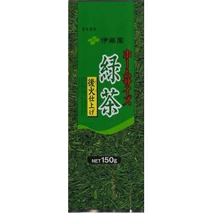 〔ケース販売〕伊藤園 ホームサイズ緑茶〔150g×10本セット〕 まとめ買い