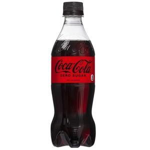 〔飲料〕コカ・コーラ ゼロ シュガー Coca Cola Zero 500ml 1ケース(24本入)