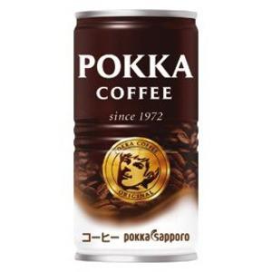 〔まとめ買い〕ポッカサッポロ ポッカコーヒー オリジナル 190g 缶 30本入り(1ケース)