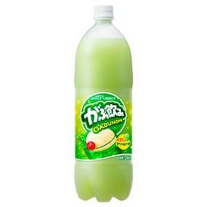〔まとめ買い〕ポッカサッポロ がぶ飲み メロンクリームソーダ 1.5L ペットボトル 8本入り(1ケース)