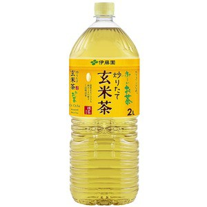〔まとめ買い〕伊藤園 おーいお茶 抹茶入り玄米茶 ペットボトル 2.0L×12本(6本×2ケース)