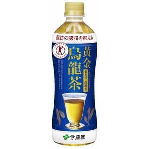 〔まとめ買い〕伊藤園 黄金烏龍茶 PET 500ml×48本(24本×2ケース)