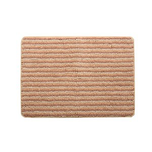 バスマット フロアマット 洗える 抗菌防臭 吸水 部屋干しOK 『プラチナクリーン ナリ』 ベージュ 約50×75cm