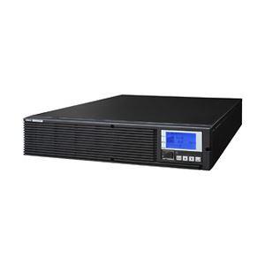 オムロン 無停電電源装置(高効率常時インバータ)200V/3.0KVA/2.1KW:ラック対応(縦置可) BU3002RWL