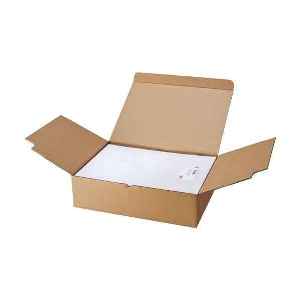 (まとめ) TANOSEE マルチプリンターラベル 業務用パック A4 12面 83.8×42.3mm 四辺余白付 角丸 1箱(