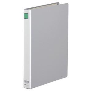 (まとめ) キングファイルG A4タテ 200枚収容 背幅36mm グレー 972N 1冊 【×10セット】