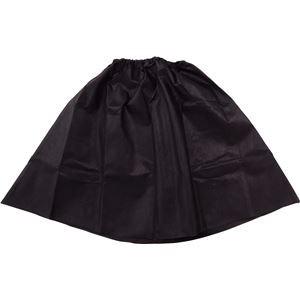 (まとめ)アーテック 衣装ベース 〔マント・スカート〕 不織布 ブラック(黒) 〔×15セット〕