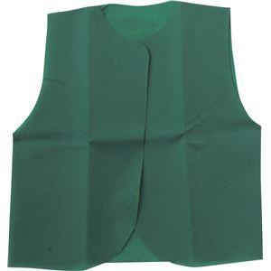 (まとめ)アーテック 衣装ベース 〔C ベスト〕 不織布 グリーン(緑) 〔×30セット〕