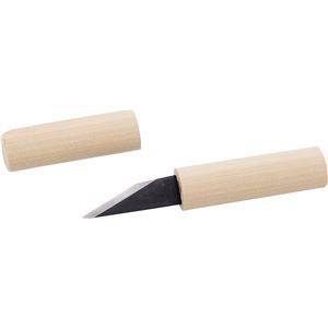 (まとめ)アーテック 白サヤ小刀・付鋼(2層鋼)右用 〔×10セット〕