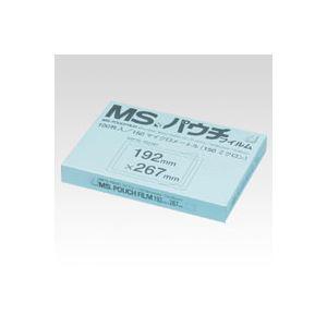 明光商会 MSパウチフィルム MP15-192267 100枚