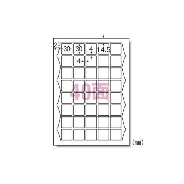 (業務用セット) エーワン ラベルシール〈プリンタ兼用〉ハイグレードタイプ マット紙(A4判) 75240 20枚入 【×2セッ