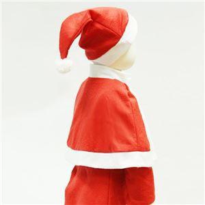 サンタ 衣装 キッズ 120 まとめ3着セット 〔 P×P ガールズサンタクロース サンタコスチューム子供用 ワンピース&肩