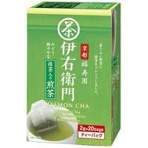 (業務用70セット)宇治の露製茶 伊右衛門抹茶入煎茶ティバッグ 20P入1箱 〔×70セット〕