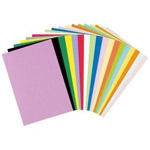 (業務用20セット) リンテック 色画用紙/工作用紙 【八つ切り 100枚×20セット】 濃焦茶 NC323-8