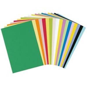 (業務用200セット) 大王製紙 再生色画用紙/工作用紙 【八つ切り 10枚×200セット】 みかん