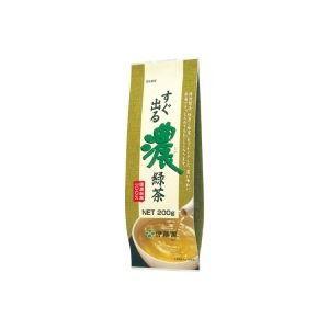 (業務用30セット)伊藤園 すぐ出る濃緑茶200g