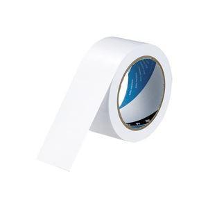 (業務用30セット) 寺岡製作所 ラインテープ 340 白 50×20
