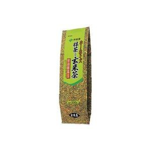 (業務用30セット)伊藤園 ホームサイズ抹茶入玄米茶 300g 〔×30セット〕