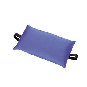 車椅子用座位保持クッションGR 〔腰用〕 丸洗い(手洗い)可 豊通オールライフ (歩行補助用品/介護用品)