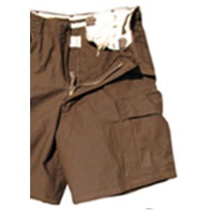 USタイプ「 M-65」フィールドショート丈パンツ ブラウン メンズ XSサイズ 〔 レプリカ 〕