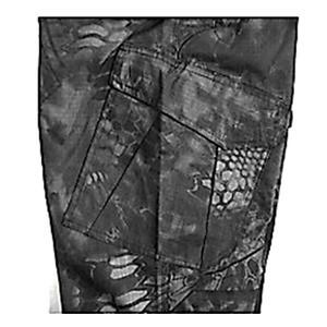 アメリカ軍 最新鋭ステレス 迷彩オペレーター吸汗速乾パンツ HCP ブラック L