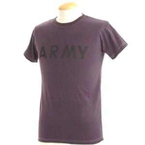 USタイプARMYオバーダイTシャツ XS オバーダイパープル