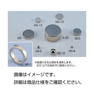 (まとめ)ネオジム磁石 NGS 入数:2〔×3セット〕