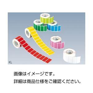 (まとめ)カラーラベル KL-WH白〔×10セット〕