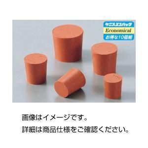 (まとめ)赤ゴム栓 No02(1個)〔×100セット〕