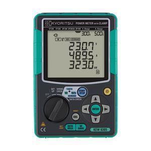 共立電気計器 電力計 6305〔代引不可〕