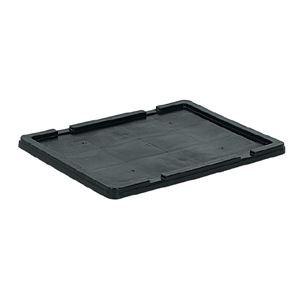 (業務用10個セット)三甲(サンコー) サンボックス蓋 単品 導電 32/64 ブラック(黒) 【代引不可】