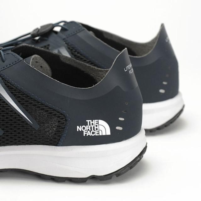 ノースフェイス ライトウェーブ フローレース スニーカー メンズ アクアシューズ ウォーターシューズ 軽量 ランニング アウトドア ブラック ネイビー 黒 男性 THE NORTH FACE NF01703 送料無料
