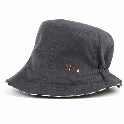 DAKS ダックス 帽子 レディース チューリップオブザー カジュアル シンプル 婦人 秋 冬 日本製 ブラック