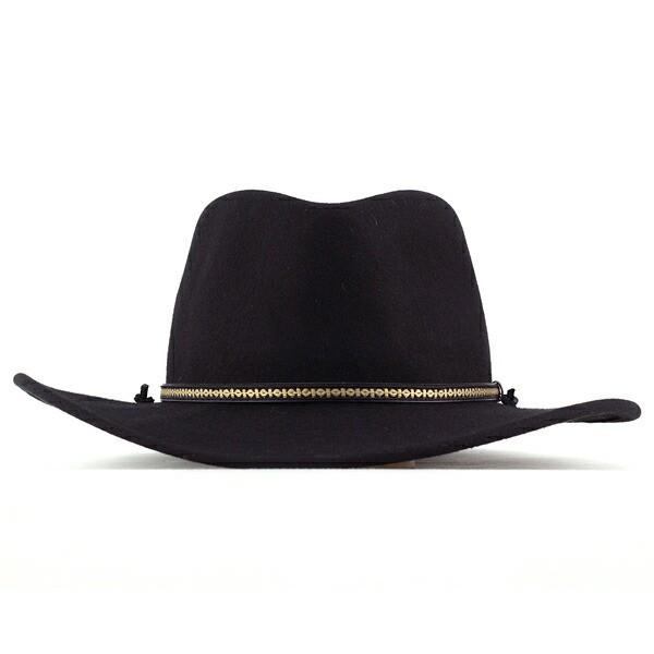 ステットソン ウェスタンハット 帽子 カウボーイハット クラッシャブルフェルト stetson usa ALPINE ブラック