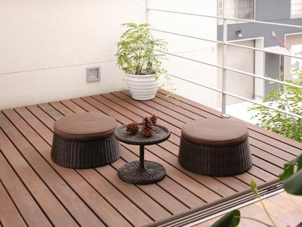 ガーデンチェア スタッキング・重ね置き可能 Nardi ナルディ 上質なリラックス ガーデン カフェチェアー ホワイト/ブラウン