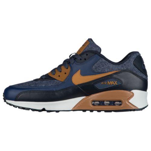 ナイキ 【Nike Air Max 90】 Obsidian メンズ スニーカー シューズ・靴 Thunder Blue/ Ale Brown/