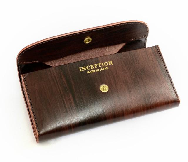 インセプション INCEPTION 長財布 財布 メンズ ロング ウォレット レザー 革 茶芯 IPCH-01 長財布