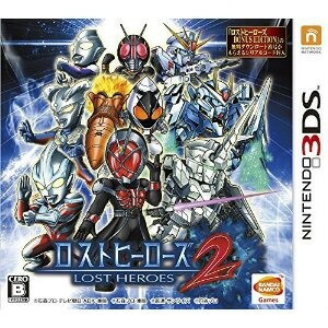 【新品★送料無料メール便】3DSソフト ロストヒーローズ2 (通常版)