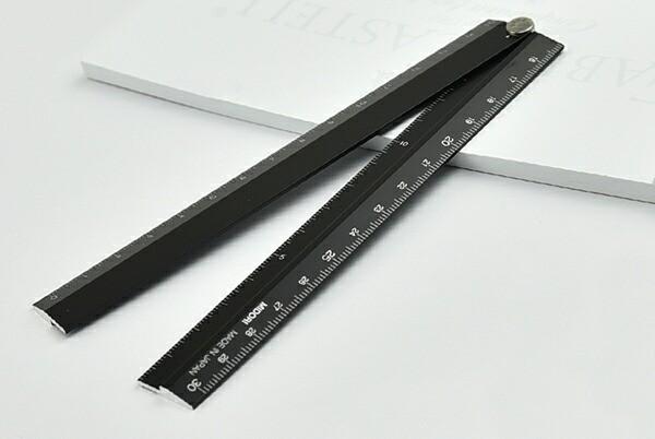 ミドリ MIDORI マルチ定規 アルミ 30cm 黒 42254006の通販はWowma!(ワウマ) - YOU  STYLE|商品ロットナンバー:251543328