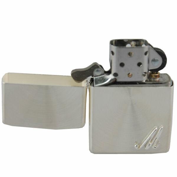 ジッポー ZIPPO ライター レギュラーサイズ イニシャルメタル(M) SSP M